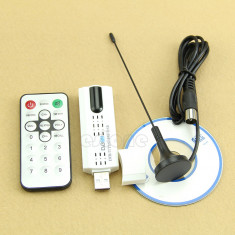 TV Tuner nou cablu UPC, RDS, USB 2.0 DVB-C -T-T2 (DVBC canale SD, HD) HDTV ! - TV-Tuner PC