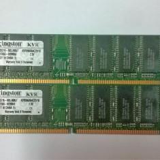 Memorie 1GB DDR1 PC 2100 DDR 266 MHz 184-Pin Desktop - Memorie RAM Kingston, 333 mhz