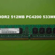 Memorie RAM PC DDR2 512MB PC4200 533MHz Infineon