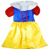 Rochita Alba ca Zapada costum carnaval fetite 2 - 4 ani - Costum copii