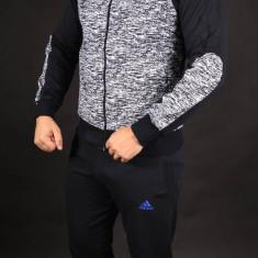 Trening Adidas picatele albastru Bumbac Barbati S M L XL XXL - Trening barbati Adidas, Culoare: Din imagine, Microfibra