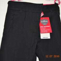 Pantaloni negri din stofa, Marime: Alta, Culoare: Negru, Fete