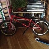 Vand bmx kink launch 2013 - Bicicleta BMX, 16 inch, Numar viteze: 1
