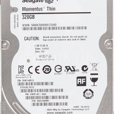 Hard disk laptop Seagate Momentus Thin 320GB - HDD laptop