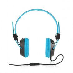 Casti Modecom MC-400 Circuit Blue - Casti PC
