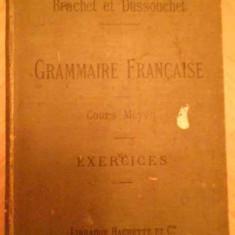 Nouveau Cours De Grammaire Francaise Cours Moyen Exercices Su - A. Brachet J. Dussouchet, 138782 - Carte veche