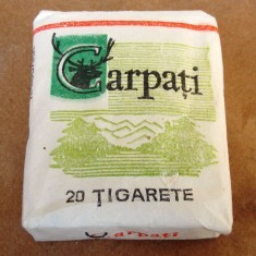 Pachet tigari Carpati