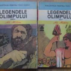 Legendele Olimpului Vol.1-2 Zeii. Eroii - Al. Mitru, 159075 - Carte de povesti