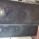 Vand boxe mag 700 × 2 + statie phonic + microfon. - Amplificator audio