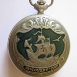 CEAS RUSESC DE BUZUNAR MOLNIJA, EDITIE LIMITATA DISCOVERY DAY/CRISTOFOR COLUMB 92 - Ceas de buzunar