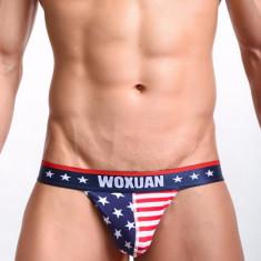 Lenjerie intima chiloti barbati cu model, Marime: XL, Culoare: Albastru