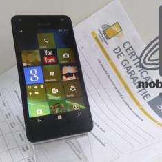 Nokia Lumia 550 ! Factura si Garantie! Posibilitate Rate! - Telefon Nokia, Negru, 8GB, Neblocat, Single SIM, Quad core