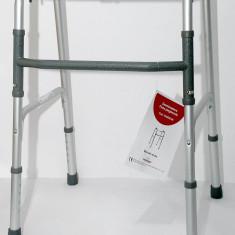 Cadru ajutator pentru mers - pliabil, ajustabil, usor si rezistent