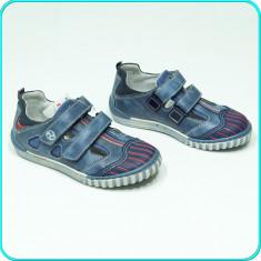 NOI, DE FIRMA _ Pantofi DIN PIELE, comozi, aerisiti, MELANIA _ baieti | nr. 29 - Pantofi copii Melania, Culoare: Din imagine, Piele naturala