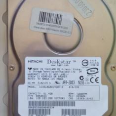 Hard Disk IDE / ATA Hitachi Deskstar 60 Gb, 40-99 GB, Rotatii: 7200