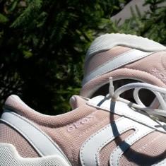 Adidasi dama GEOX nr.39 originali stare de nou, Culoare: Din imagine, Piele naturala