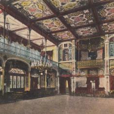 Carte postala Baile Herculane - Salon de cura, 1930, circulata, stare buna - Carte Postala Banat dupa 1918, Printata