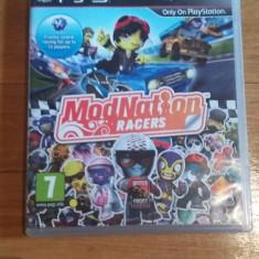 JOC PS3 MODNATION RACERS ORIGINAL / by WADDER - Jocuri PS3 Sony, Curse auto-moto, 12+, Multiplayer