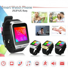 SmartWatch Smart Watch phone S29 Ceas cu telefon SIM Android Video/Foto + Casti