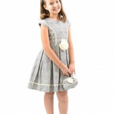 Rochie de mireasa printesa - Rochita cu poseta 8 ani Vanilla Colours