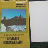 Carte Geografie - Colectia Muntii Nostri-Muntii Rarau-Giumalau-D.Oancea, C.Swizewski