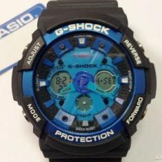 Ceas barbatesc - CASIO G-SHOCK GA 200, Black Blue Edition !!!