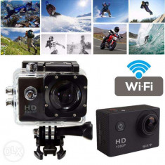 Sport Action Camera tip SJ4000 Wi-Fi Subacvatica FullHD 1080p 12MP 170, Garantie - Camera Video Actiune