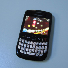 BLACKBERRY 8520 - carcasa uzata - joystick defect - smartphone qwerty - Telefon mobil Blackberry 8520, Neblocat