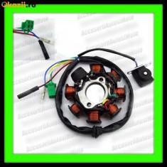 Electrica Moto - MAGNETOU ATV 125 150 cc 4T 8 Bobine STATOR APRINDERE SCUTER GY6 150cc