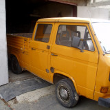 Volkswagen Transporter T3 dublu cabin in perfecta stare de functionare revizie