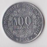 Moneda 100 francs 2013 - Statele Africii de Vest, Africa