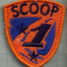 Uniforma militara - 219 -EMBLEMA SPORTIVA -SCOOP 1 - SKI ?-starea care se vede