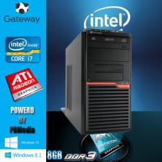 Sisteme desktop fara monitor Acer, Intel Core i7, 2501-3000Mhz, 8 Gb, 200-499 GB, Socket: 1156 - Calculator i7 2.93 ghz 8 GB DDR3 HDD 250 GB Video 1 GB DDR3 DVD-RW