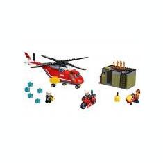 LEGO City - Unitatea de interventie de pompieri