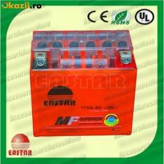 Acumulatori Moto - BATERIE MOTO Scuter Atv 5Ah 12V 5 Amperi BATERIE 5 Ah cu GEL fara intretinere