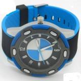Ceas barbatesc, Sport, Cauciuc - Ceas BMW emblema curea din silicon finisaje de calitate, blue