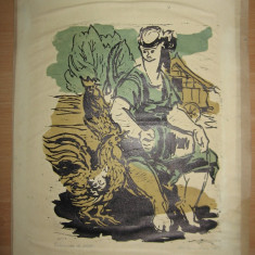 LITOGRAFII LIDIA MIHAESCU, 1979, EXEMPLAR DE AUTOR