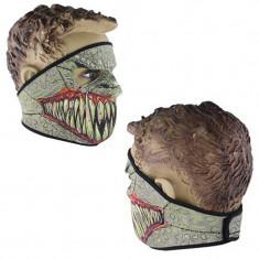 Cagula moto - CAGULA masca pentru MOTOR BICIBLETA SKI PAINTBALL AIRSOFT din NEOPREN cu colti