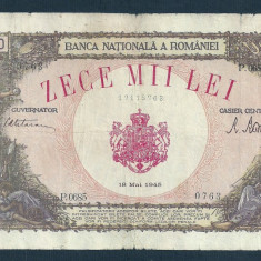 Bancnote Romanesti, An: 1945 - ROMANIA 10000 10.000 LEI 18 MAI 1945 [28]