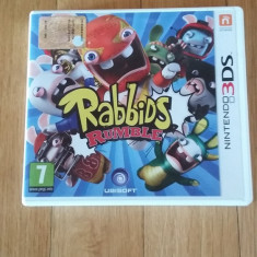 Jocuri Nintendo 3DS, Arcade, 3+, Single player - JOC NINTENDO 3DS RABBIDS RUMBLE ORIGINAL / by WADDER