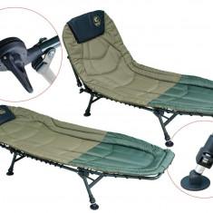 Mobilier camping - Pat pliant HYB037 Baracuda Cu 6 Picioare