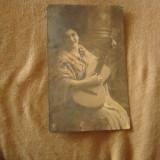 Cp veche fata cu chitara