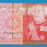 Tonga 2 Pa'anga 2009 UNC - bancnota europa