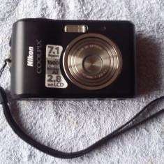 NIKON COOLPIX L16 - 7.1 MAGAPIXELS, FUNCTIONEAZA . - Aparat Foto compact Nikon