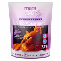 Pisica - MARACAT NISIP SILICAT LAVANDA 7.6 L