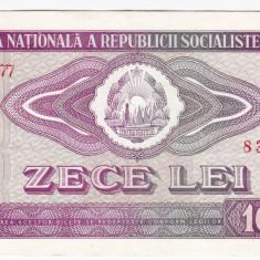 2) Bancnota 10 Lei 1966  VF+