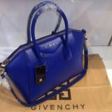 Geanta Dama Givenchy, Geanta de umar, Piele - Geanta Givenchy Antigona Blue * Piele Naturala *