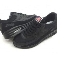 Nike Air Max - Adidasi barbati Nike, Marime: 36, 37, 38, 39, 40, 41, 42, 43, 44, Culoare: Negru, Textil