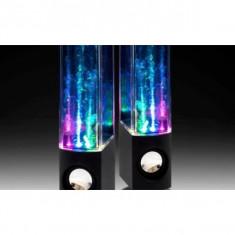 Boxe audio cu apa si lumini