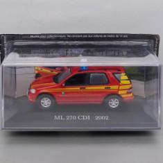 Mercedes-Benz ML 270 CDI 2002 Pompieri, 1/43 - Macheta auto